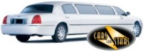 White limousines for hire for weddings in the Romford area. Wedding limousines Romford