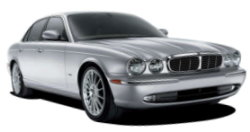 Chauffeur driven cars in Romford area, including the long wheel based version of the new Jaguar XJ