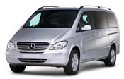 Chauffeur driven Mercedes Viano people carrier - Up to 7 passengers in comfort, from Cars for Stars (Romford)